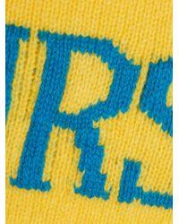 Alberta Ferretti - Yellow Thursday Crewneck Sweater - Lyst