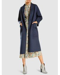 Sofie D'Hoore - Blue Cherie Double-faced Reversible Wool Coat - Lyst