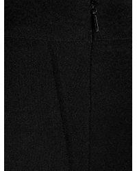 Safiyaa - Black Adriana Stretch-crepe 7/8-length Trousers - Lyst