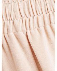 Joseph | Natural Dylan Matte Silk Trousers | Lyst