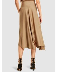Zero + Maria Cornejo - Natural Eco Drape Wave Skirt - Lyst