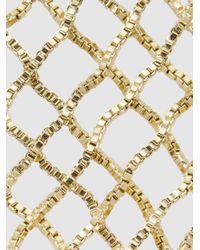 Rosantica - Metallic Aquilone Fringed Gold-tone Hand Piece - Lyst
