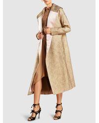 Zero + Maria Cornejo - Natural Eco Drape Wave Skirt - Lyst