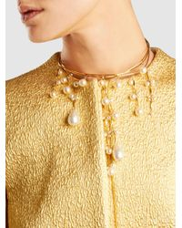 Erickson Beamon - Metallic Pretty Woman Pearl Necklace - Lyst
