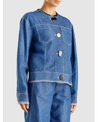 Rejina Pyo - Blue Erin Denim Jacket - Lyst