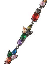 Iosselliani - Multicolor Gunmetal-tone, Crystal And Stone Earrings - Lyst