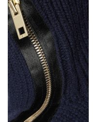 Rag & Bone - Cashmere And Wool-blend Turtleneck Sweater Midnight Blue - Lyst