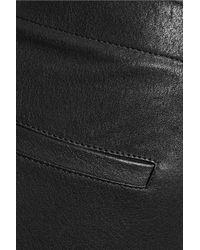 Rag & Bone - Black Glossed Leather Leggings - Lyst