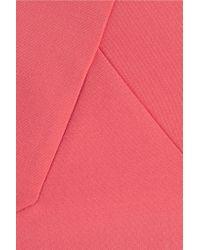 Roland Mouret - Pink Dendrum Stretch-wool Dress - Lyst