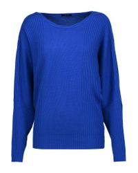 Raoul - Blue Cable-knit Wool And Cashmere-blend Sweater - Lyst