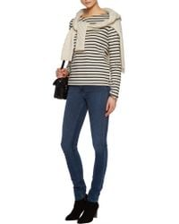 Acne - Blue Flex Sequel Mid-rise Skinny Jeans - Lyst