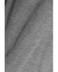 T By Alexander Wang - Gray Stretch-jersey T-shirt - Lyst