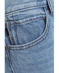 Helmut Lang - Blue Faded Mid-rise Straight-leg Jeans Light Denim - Lyst