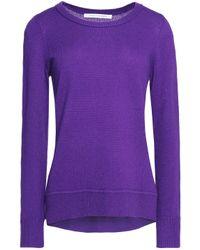 Diane von Furstenberg - Purple Medium Knit - Lyst