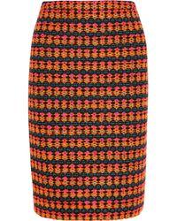 J.Crew - Multicolor Collection Neon Tweed Pencil Skirt - Lyst