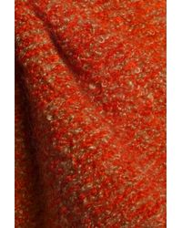 Sonia Rykiel - Woman Mélange Mohair-blend Bouclé Sweater Orange - Lyst