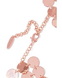 Luv Aj - Pink Triple Disco Fever Rose Gold-plated Choker - Lyst