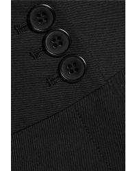 Equipment - Black Houston Wool-blend Wide-leg Pants - Lyst