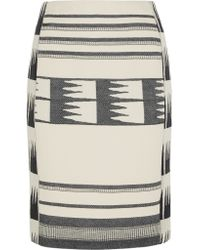 J.Crew - Multicolor Collection Lianos Printed Cotton-blend Canvas Skirt - Lyst