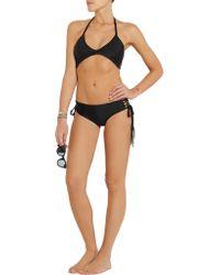 Mikoh Swimwear - Black Namotu String Bikini Top - Lyst