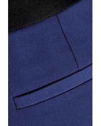 Prabal Gurung - Blue Wool-blend Twill Straight-leg Pants - Lyst