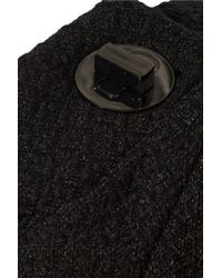 Badgley Mischka   Black Stretch-knit Dress   Lyst