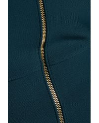 Roland Mouret - Blue Pearly One-shoulder Stretch-bandage Dress - Lyst