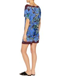Emilio Pucci | Purple Printed Terry Shorts | Lyst