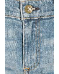 Rag & Bone - Blue Tomboy Low-rise Slim-leg Jeans - Lyst