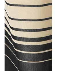 Raoul - Natural Striped Silk Wide-leg Pants - Lyst