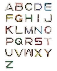 Proenza Schouler - Multicolor Alphabet Enameled Brooches - Lyst