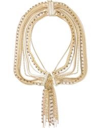 Rosantica | Metallic Maya Gold-tone Beaded Necklace | Lyst