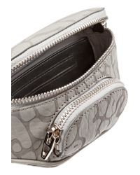 Alexander Wang - Gray Dumbo Coated Leather Belt Bag - Lyst