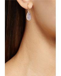 Melissa Joy Manning - Blue 14-karat Gold Druzy Earrings - Lyst