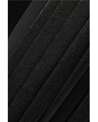 10 Crosby Derek Lam   Black Pleated Crepe Jumpsuit   Lyst