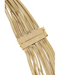 Rosantica - Metallic Gold-plated And Faux Pearl Necklace - Lyst