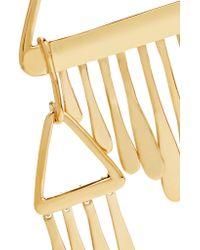 Aurelie Bidermann   Metallic Vera Gold-plated Earrings   Lyst