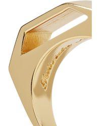 Gabriela Artigas - Metallic Gold-tone Ring - Lyst