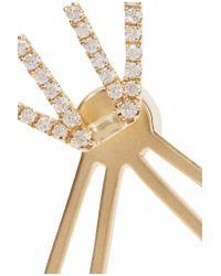 Khai Khai - Metallic 18-karat Gold Diamond Earrings - Lyst