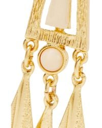 Ben-Amun - Blue Gold-plated Stone Earrings - Lyst