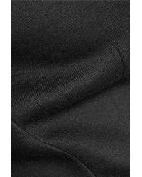 Antonio Berardi - Black Off-the-shoulder Modal Top - Lyst