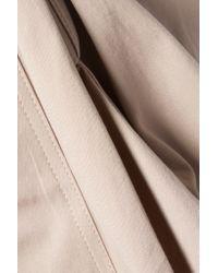 Rick Owens - Brown Asymmetric Cotton-blend Piqué Shorts - Lyst