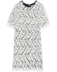 Erdem - White Aliya Guipure Lace And Chiffon Dress - Lyst