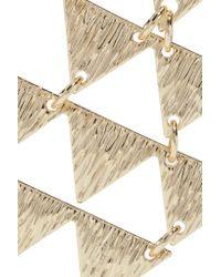 Kenneth Jay Lane - Metallic Gold-plated Earrings - Lyst