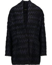 Isabel Marant | Black Erika Bouclé Coat | Lyst