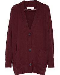 Étoile Isabel Marant - Red Marius Knitted Cardigan - Lyst