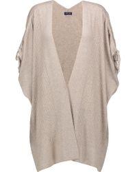 Splendid | Natural Ribbed-knit Cardigan | Lyst