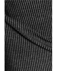 Splendid - Black Ribbed Knit Tank Dress - Lyst