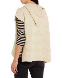 Étoile Isabel Marant - Natural Flora Cotton-blend Hooded Cape - Lyst