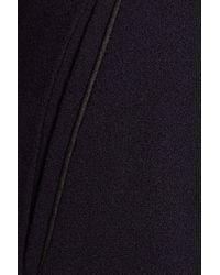 Goat | Blue Benedict Wool-crepe Slim-leg Pants | Lyst